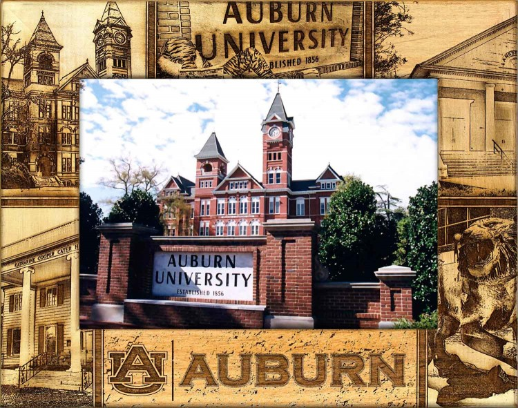 College Picture Frames - Auburn, University - College Frame - picture gift ideas