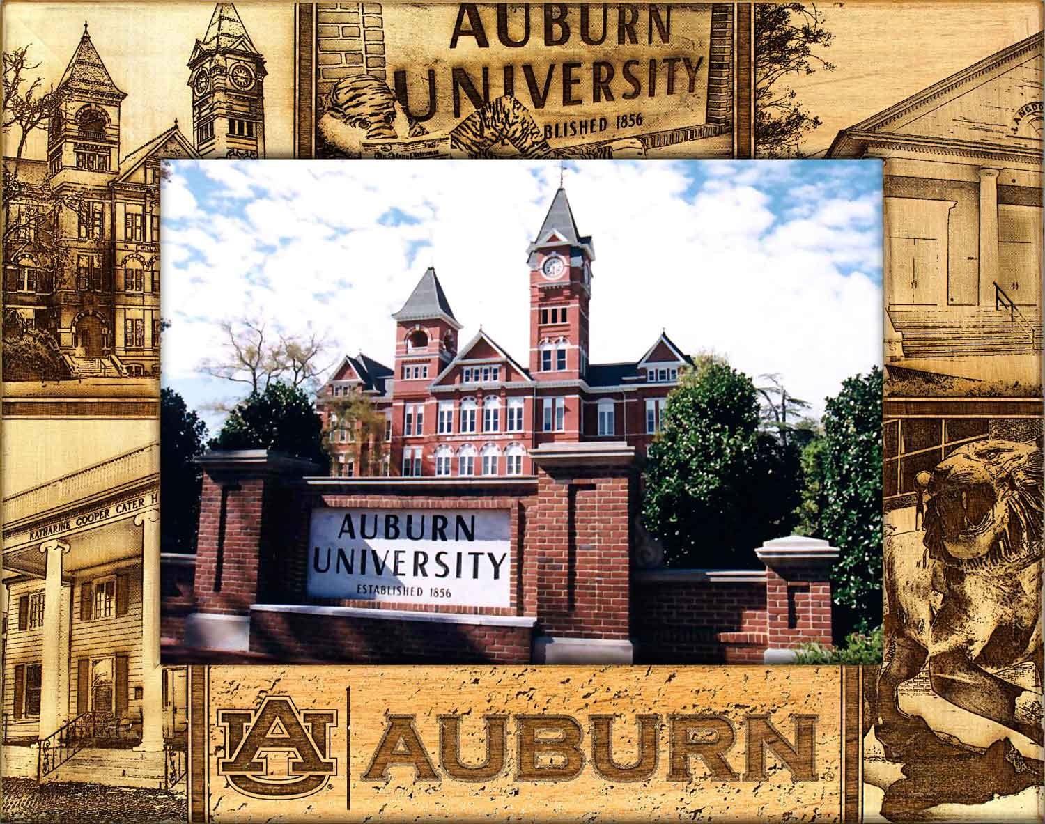 Auburn, University – College Frame | Name Picture Frames