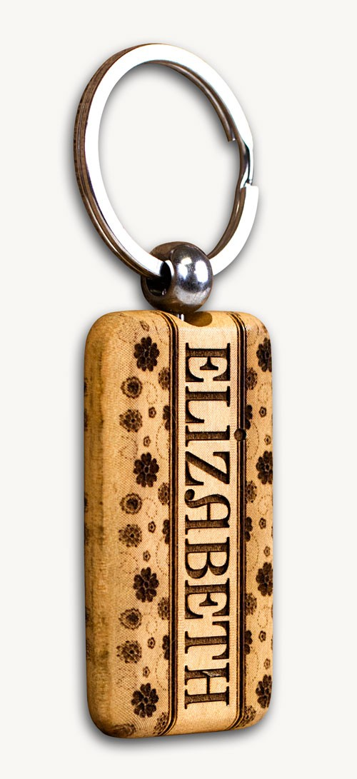 Personalized engraved gifts -Personalized Engraved Keychains