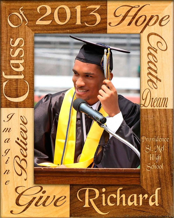 School Picture Frames - Class of - Reverse, picture gift ideas, wooden photo frames